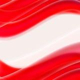 Rote Linien, Wellenbewegung, abstrakter Hintergrund für Geschäft, Flieger, Stockbilder
