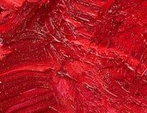 Rote Lippenstiftbeschaffenheit Lizenzfreies Stockbild