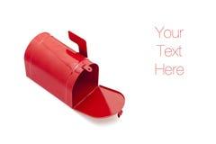 Rote Mailbox Stockbild
