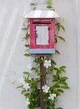 Rote Mailbox Lizenzfreies Stockfoto