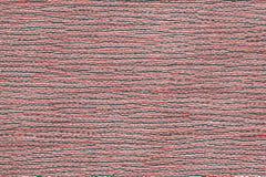 Rote Matte von Thailand mit Strohmustern und -formen lizenzfreie abbildung