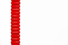 Rote Medizin Stockfoto