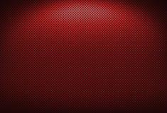 Rote Metallvergitterung Lizenzfreie Stockfotografie