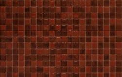 Rote Mosaikfliesen Lizenzfreies Stockbild