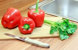 Rote Nahrung Lizenzfreie Stockbilder