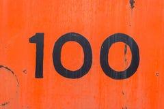 Rote orange alte Metallhintergrundbeschaffenheit Lizenzfreies Stockfoto