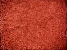 Rote Papierbeschaffenheit Stockfotografie