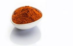 Rote Paprikas Stockbild