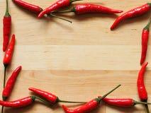 Rote Pfeffer-Hintergrund stockbild