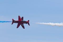 Rote Pfeile bei Wales nationales Airshow 2017 Lizenzfreie Stockbilder