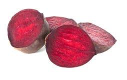 Rote Rüben getrennt Stockfoto