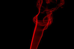 Rote Rauch-Flamme Lizenzfreie Stockbilder