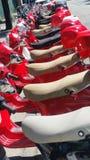 Rote Reise Medori in Italien Stockfoto
