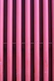 Rote Rohrleitung Stockfoto
