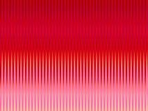 Rote rosafarbene scharfe Wellen lizenzfreie abbildung