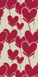 Rote Rose Zwei Innere lizenzfreie stockfotos