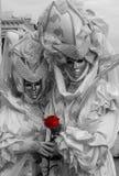 Rote Rosen-Paare Stockfotografie