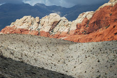 Rote rote Schlucht 2 Nevada Stockbild