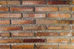 Rote rustikale Ziegelsteinhintergrundbeschaffenheit lizenzfreie stockbilder