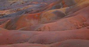 Rote Sande Stockfoto