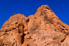 Rote Sandsteinformation Süd-Nevada Stockfoto