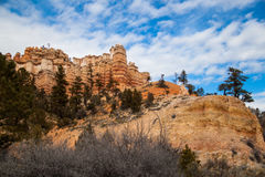 Rote Schlucht Utah Lizenzfreie Stockbilder