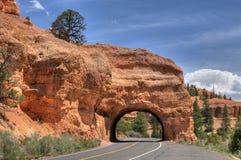 Rote Schlucht Utah Lizenzfreies Stockfoto