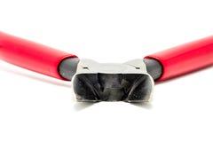 Rote Schluchtzangen Stockfoto