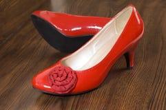 Rote Schuhe Lizenzfreies Stockfoto