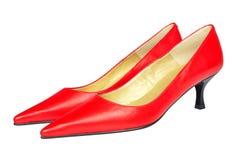 Rote Schuhe stockbilder