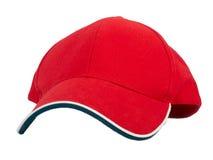 Rote Schutzkappe Lizenzfreies Stockbild