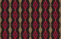 Rote schwarze Brown-Zusammenfassungs-gro?er Muster-Entwurf lizenzfreie abbildung