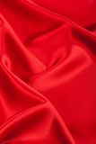 Rote Seide Lizenzfreies Stockfoto