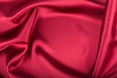 Rote Seide Stockfoto