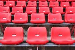 Rote Sitze Lizenzfreie Stockfotos