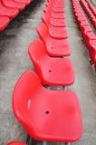 Rote Sitze Stockbilder
