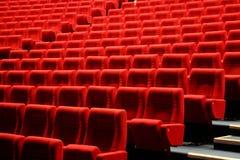 Rote Sitze Lizenzfreies Stockbild
