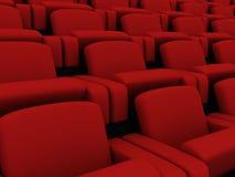 Rote Sitze lizenzfreie abbildung