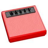 Rote Skala mit verlieren Gewichtsleute Lizenzfreie Stockfotos
