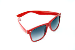 Rote Sonnenbrillen Lizenzfreies Stockbild