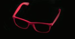 Rote Sonnenbrillen Stockfoto