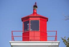 Rote Spitze des Leuchtturmes, Prinz Edward Island stockbild