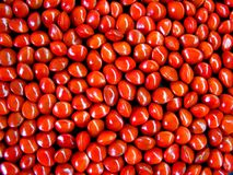 Rote Startwerte für Zufallsgenerator Stockfotos
