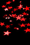 Rote Sterne Lizenzfreie Stockfotografie