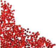 Rote Sterne Stockfotos
