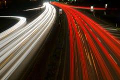 Rote Straße Stockfotografie