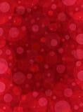 Rote strukturierte Kreise Stockfotografie