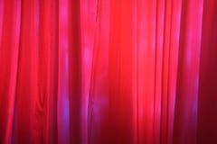 Rote Stufe-Trennvorhänge Lizenzfreies Stockfoto
