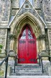 Rote Tür Stockfotos