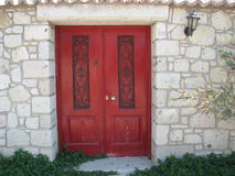 Rote Türen Lizenzfreie Stockfotografie